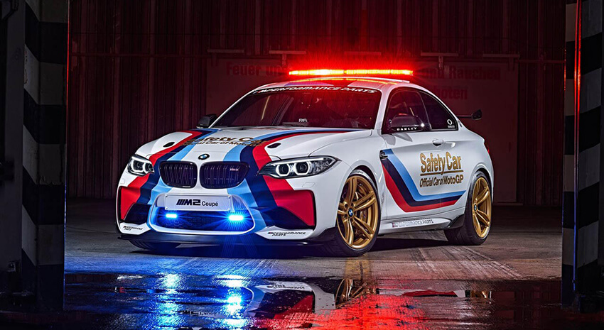 BMW M2 Nouvelle Safety Car MotoGp 2016