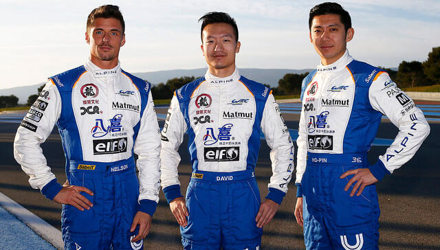 Baxi DC Racing Team David Cheng Ho-Pin Tung Nelson Panciatici