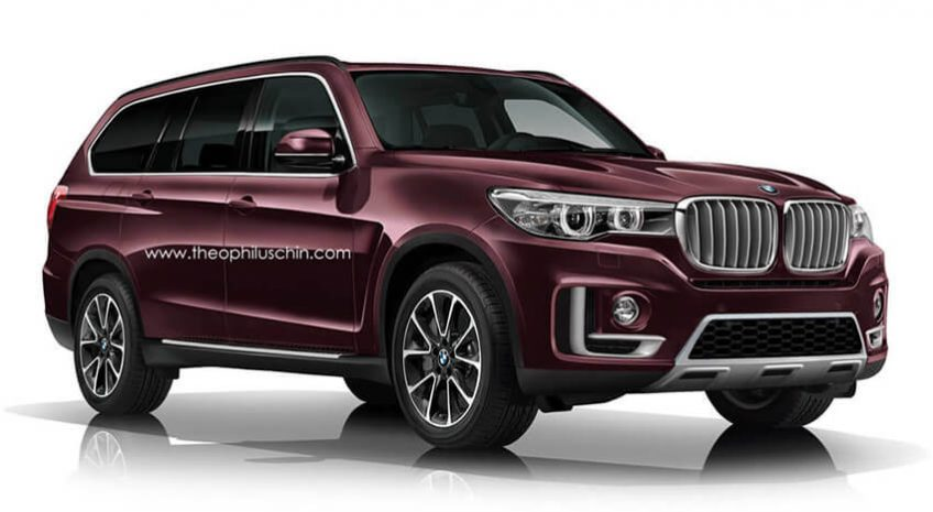 BMW X7 : un grand SUV luxueux