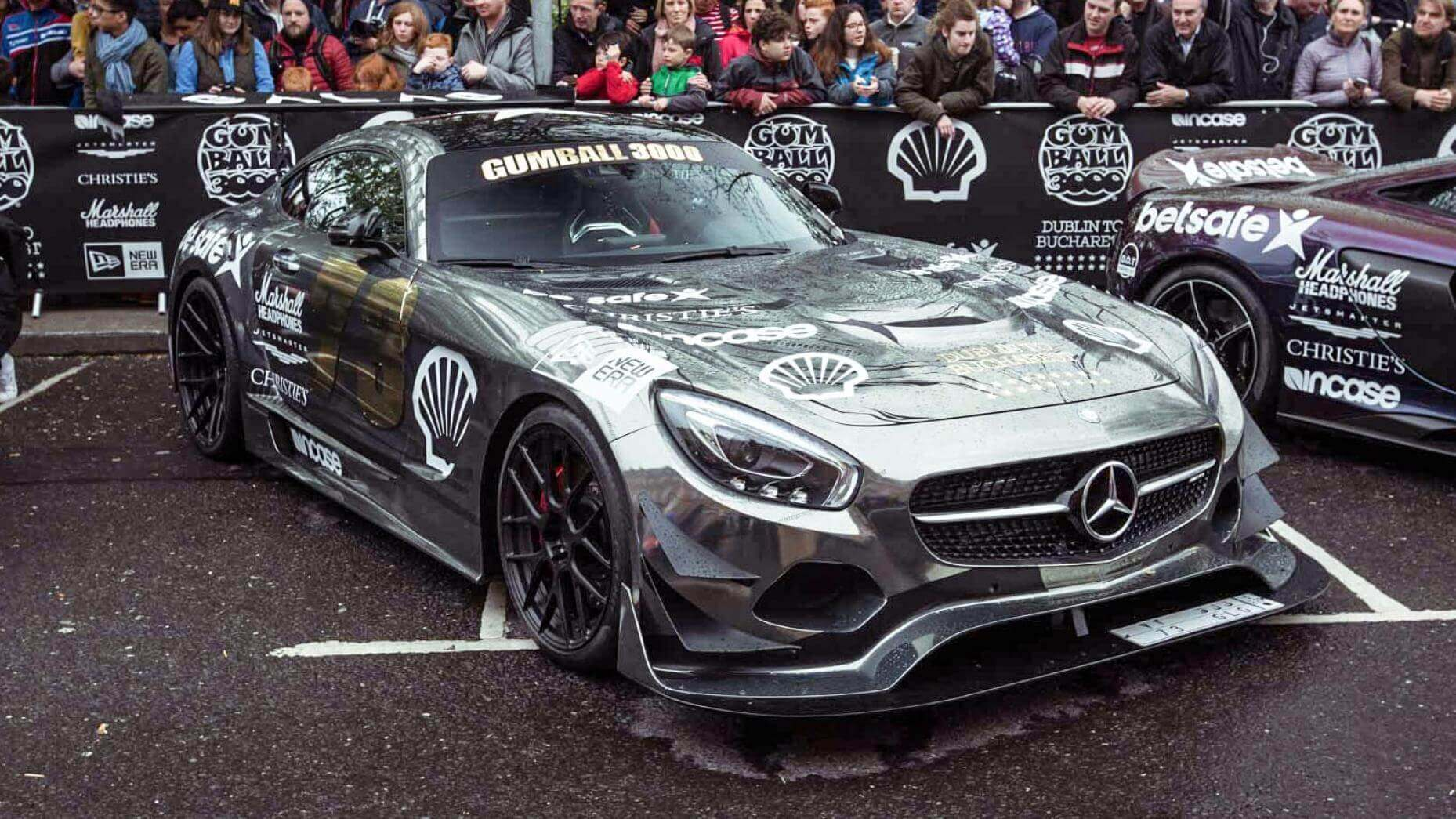 mercedes amg gt gumball 3000 2016 carsception actualit automobile. Black Bedroom Furniture Sets. Home Design Ideas