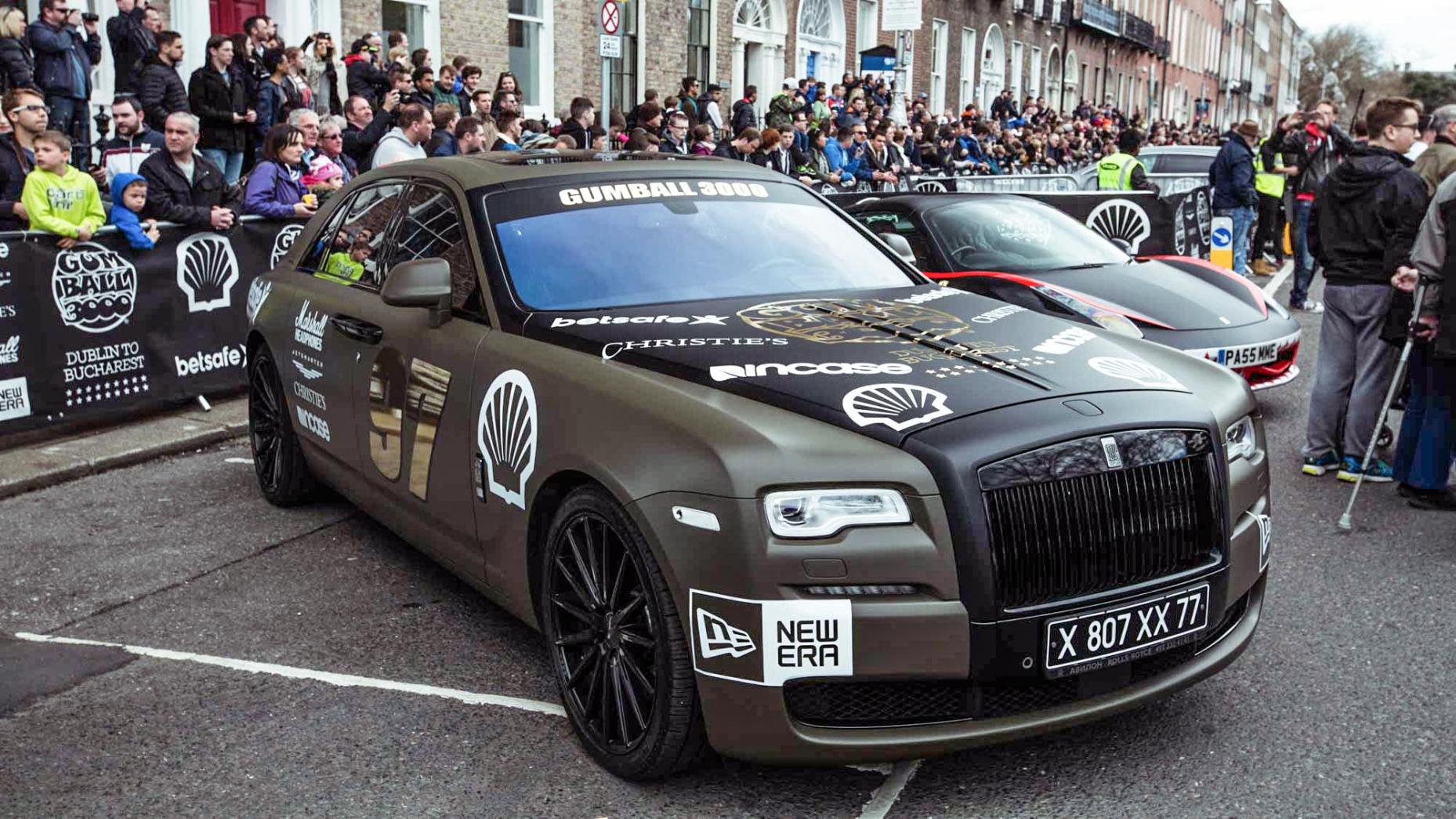 rolls royce gumball 3000 2016 carsception actualit automobile. Black Bedroom Furniture Sets. Home Design Ideas
