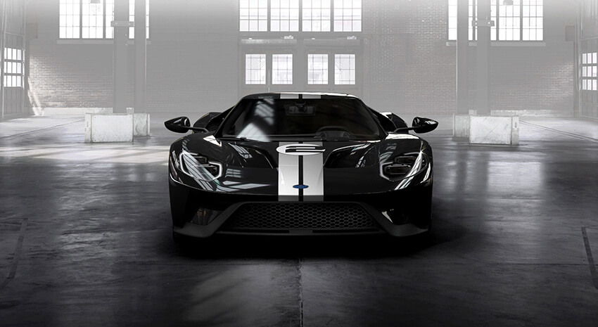 Ford GT 66 Heritage Editon