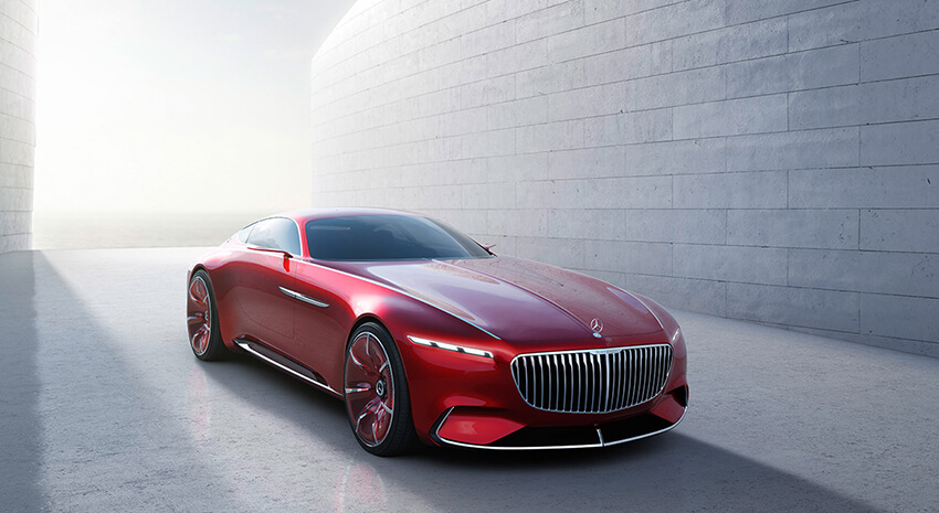 Mercedes présentera son futur coupé Maybach à Pebble Beach