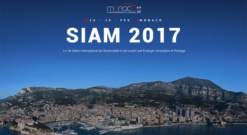 1er Salon International de l'Automobile de Monaco 2017