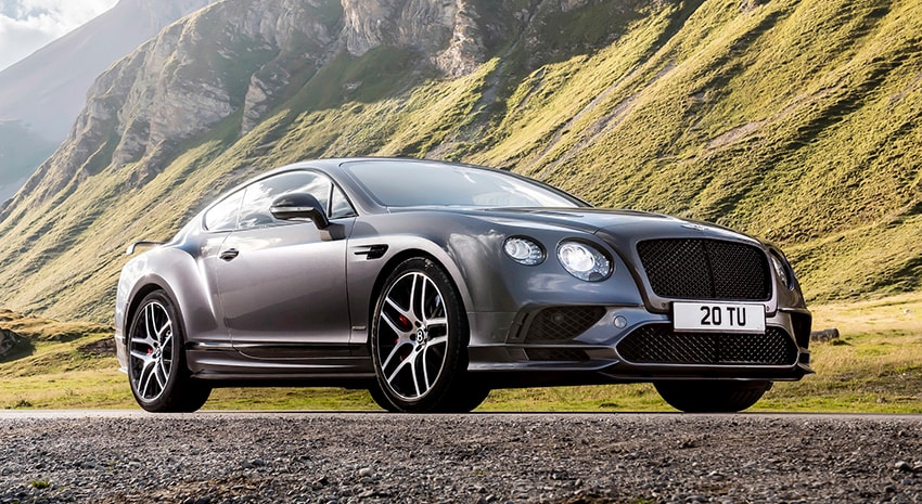 L'ultra-sportive Bentley Continental Supersports