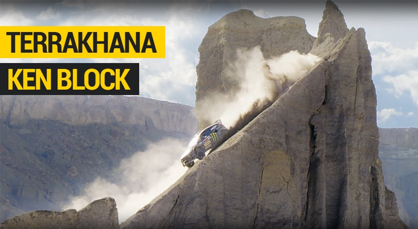Ken Block TERRAKHANA: THE ULTIMATE DIRT PLAYGROUND